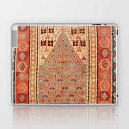 Antique Erzurum Turkish Kilim Rug Print Laptop & iPad Skin