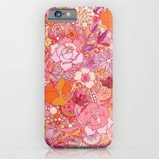Detailed summer floral pattern Slim Case iPhone 6