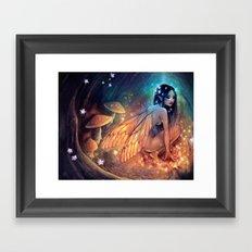 Fairydust Nest Framed Art Print