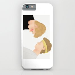 Skam, Isak and Even | Evak Illustration iPhone Case