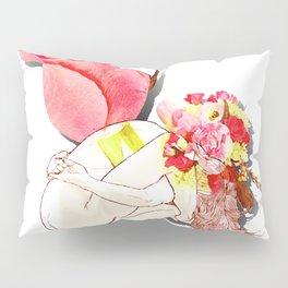 Nude rose Pillow Sham