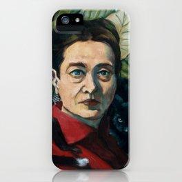 Simone DeBeauvoir iPhone Case