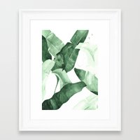 watercolour Framed Art Prints featuring Beverly II by THE AESTATE