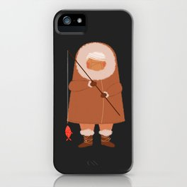 Eskimo2 iPhone Case