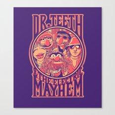Electric Mayhem Canvas Print