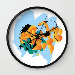 sound fire Wall Clock