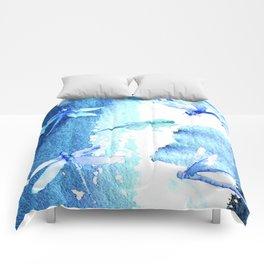Dragon fly Comforters