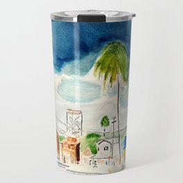 Street in Louisiana Travel Mug