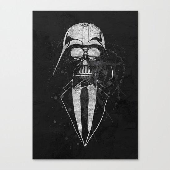 Darth Vader Gentleman Canvas Print