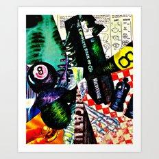 Who Is John Galt? Art Print