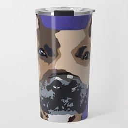 Prince on purple Travel Mug