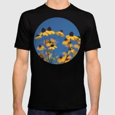 reach for the sky MEDIUM Mens Fitted Tee Black