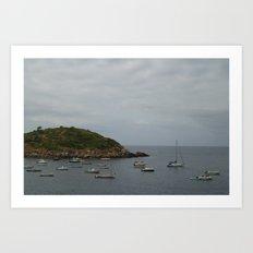 Island of Calm Art Print