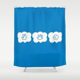 Janken Shower Curtain