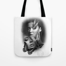 Butterfly girls Tote Bag