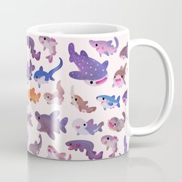 Shark day - pastel Coffee Mug