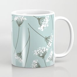 Queen Anne's Lace Floral Pattern Coffee Mug