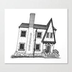 Calhoun House I Canvas Print