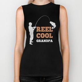 Reel cool Grandpa Biker Tank
