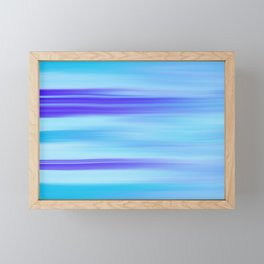 Wavy Framed Mini Art Print
