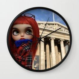 Blythe in London Wall Clock