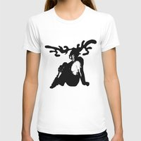 antler T-shirts featuring Antler by Maria Kate Betts