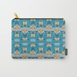Blue Rinse with Handbag Tessellation Carry-All Pouch