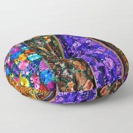 mexican art Floor Pillow