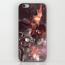 Shepard + Husk iPhone Skin
