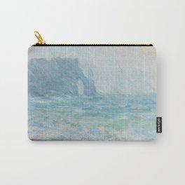 Monet Regnvær, Etretat, 1886 Carry-All Pouch