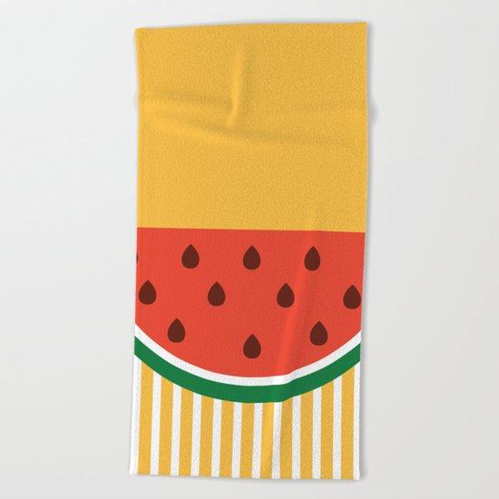 Hello summer Beach Towel