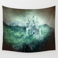fairytale Wall Tapestries featuring The dark fairytale by UtArt