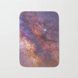 Milky Way Galaxy Bath Mat