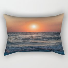Canaveral Seashore Sunrise Rectangular Pillow