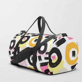 Perception Abstract 002 Duffle Bag