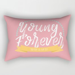 YOUNG FOREVER Rectangular Pillow