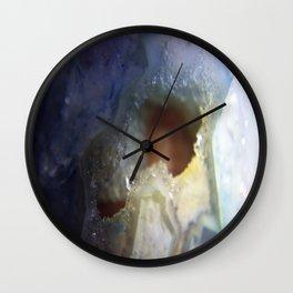 Crystal Cross Section Super Macro Wall Clock