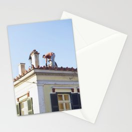 Roofing in Athens Stationery Cards