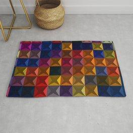 Abstract Geometric Art Colorful Design 32 Rug