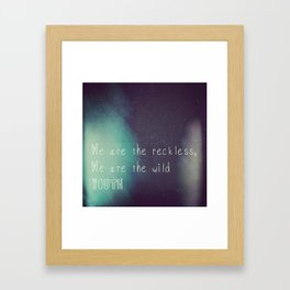 Youth. Framed Art Print