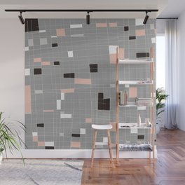 Square abstract Wall Mural