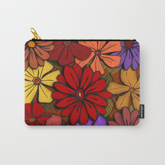 Flower Power #2 Carry-All Pouch