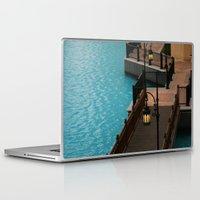 arab Laptop & iPad Skins featuring Dubai Burj Al Arab Walkway by gdesai