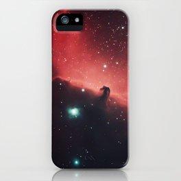 The Horsehead and Flame Nebula iPhone Case