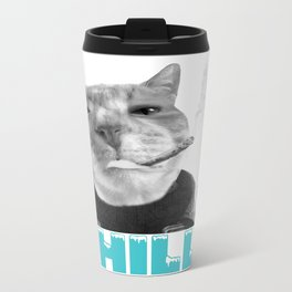 Chill Cat  Travel Mug