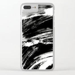 Ink Art S #2 Clear iPhone Case