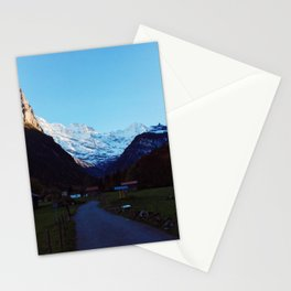 Swiss Alps Path Stationery Cards