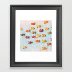 Plenty of Fish Framed Art Print