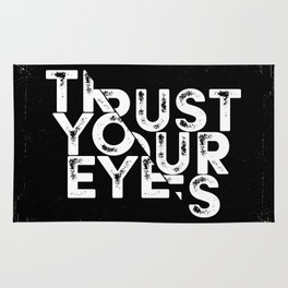 Trust your Eyes Rug
