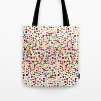dot Tote Bags featuring Dot... by DesignsByMarly